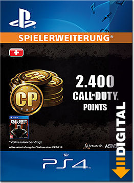 Call of Duty: Black Ops 3 - 2'400 Call of Duty Points