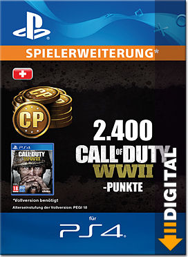 Call of Duty: WWII - 2'400 Call of Duty Points