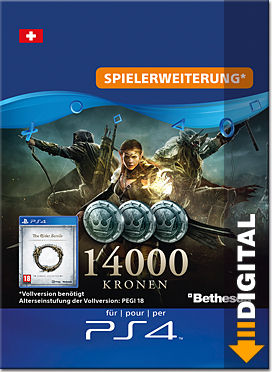 The Elder Scrolls Online: Tamriel Unlimited - 14000 Kronen
