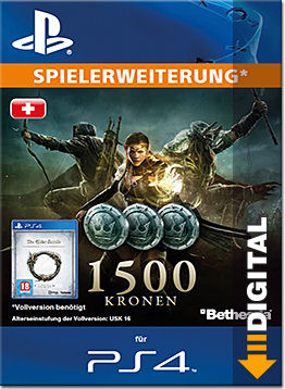 The Elder Scrolls Online: Tamriel Unlimited - 1500 Kronen