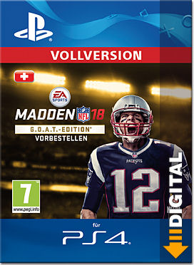 Madden NFL 18 - G.O.A.T. Edition