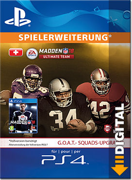 Madden NFL 18 - G.O.A.T. Edition Upgrade