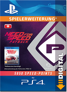Need for Speed Payback: 5850 Speed Points