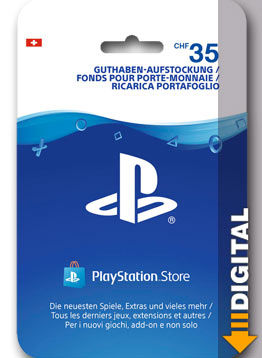 Playstation Store Guthaben CHF 35.-- (Sony)