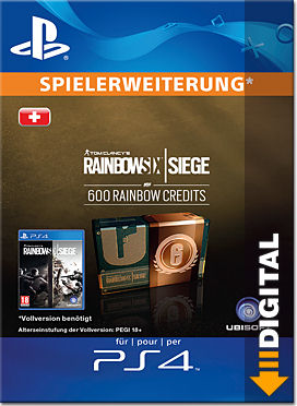 Rainbow Six: Siege - 600 Rainbow Credits