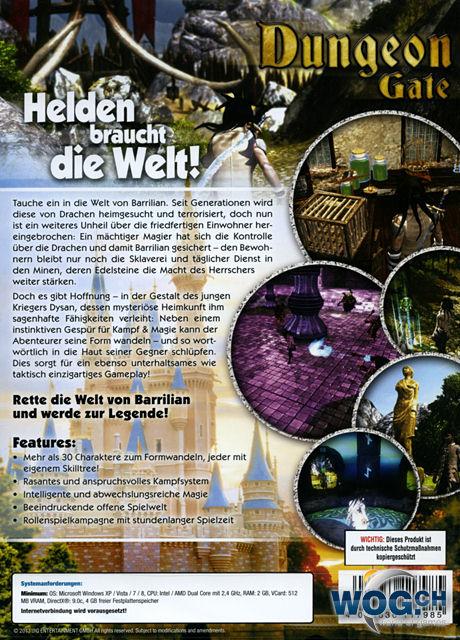 dungeon gate pc win xp vista 7 8 genre adventure rpg entwickler wild