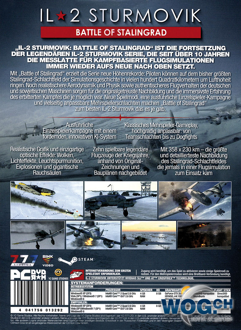 il 2 sturmovik battle of stalingrad manual