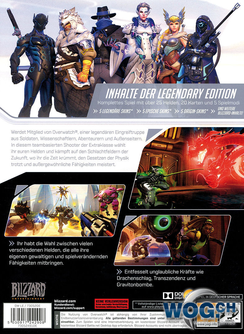 Overwatch Legendary Edition Pc Games World Of Games