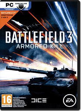 Battlefield 3 DLC: Armored Kill (Download Code)