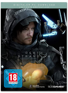 Death Stranding - Steelbook Edition (Code in a Box)