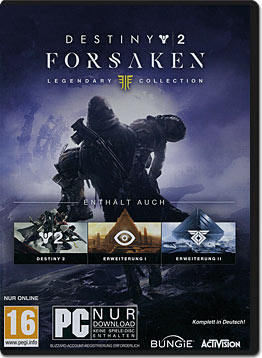 Destiny 2: Forsaken - Legendary Collection (Code in a Box)