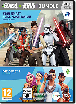 Die Sims 4 - Star Wars: Reise nach Batuu Bundle (Code in a Box)
