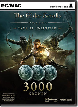 The Elder Scrolls Online: Tamriel Unlimited - 3000 Kronen