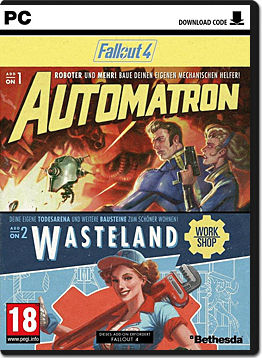 Fallout 4: Automatron & Wasteland (Code in a Box)