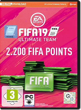 FIFA 19 Ultimate Team: 2200 Points (Code in a Box)