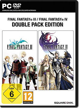 Final Fantasy 3 & 4 - Double Pack Edition