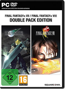 Final Fantasy 7 & 8 - Double Pack Edition