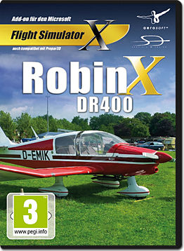 Flight Simulator X: Robin X DR400