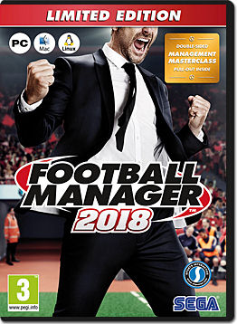 Football Manager 2018 - Limited Edition -E-