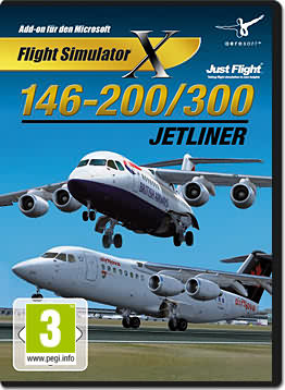 Flight Simulator X: 146-200/300 Jetliner