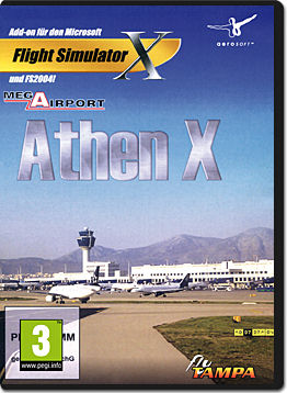 Flight Simulator X Add-on: Mega Airport Athen X