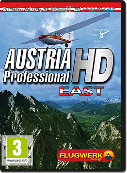 Flight Simulator X Add-on: Austria Professional HD East