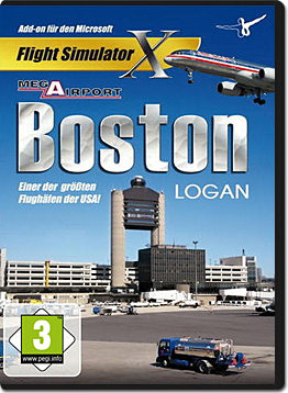 Flight Simulator X: Mega Airport Boston Logan
