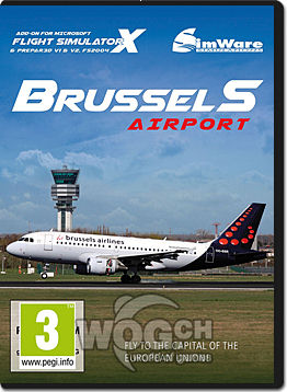 Flight Simulator X Add-on: Brussels International