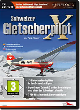 Flight Simulator X Add-on: Schweizer Gletscherpilot X