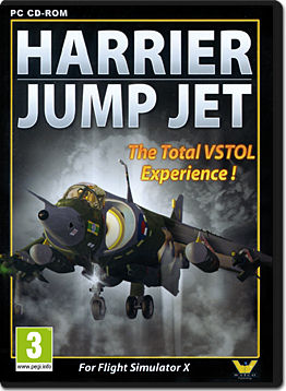 Flight Simulator X: Harrier Jump Jet -E-