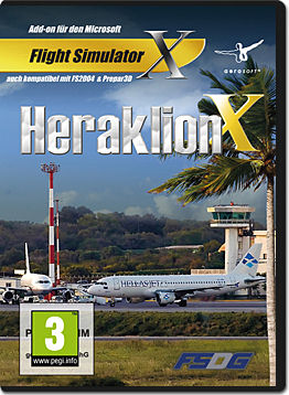 Flight Simulator X: Heraklion X