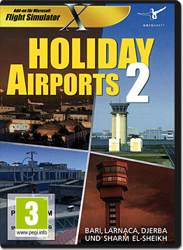 Flight Simulator X Add-on: Holiday Airports 2