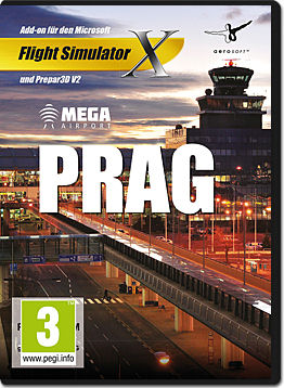 Flight Simulator X: Mega Airport Prag