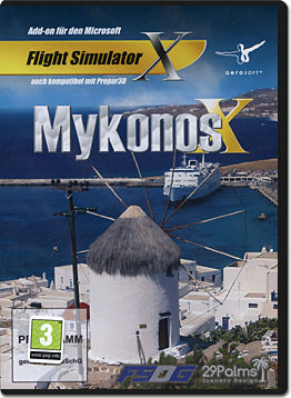 Flight Simulator X: Mykonos X