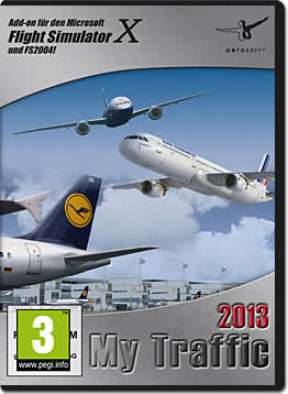 Flight Simulator X: My Traffic 2013