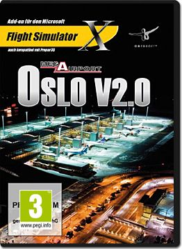 Flight Simulator X: Mega Airport Oslo V2.0