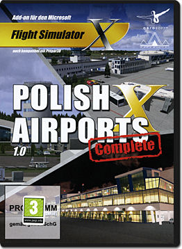 Flight Simulator X: Polish Airports Complete