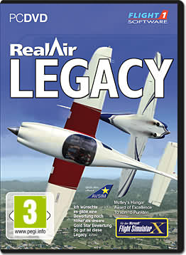 Flight Simulator X Add-on: RealAir Legacy