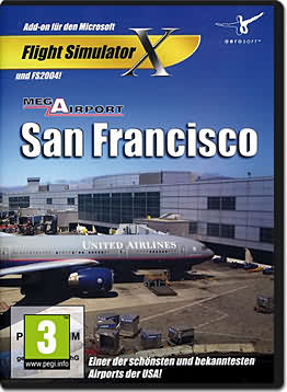 Flight Simulator X: Mega Airport San Francisco