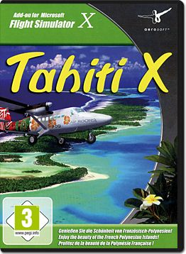 Flight Simulator X Add-on: Tahiti X