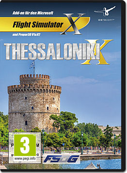 Flight Simulator X: Thessaloniki X