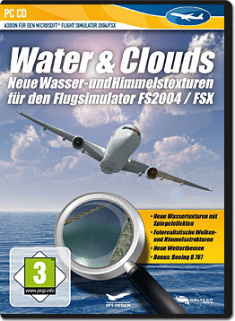 Flight Simulator X Add-on: Water & Clouds