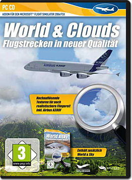 Flight Simulator X Add-on: World & Clouds