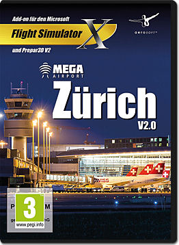 Flight Simulator X Add-on: Mega Airport Zürich V2.0