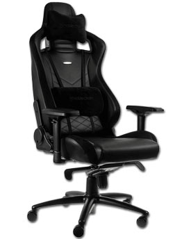 Gaming Chair EPIC -Black/Black- (noblechairs)