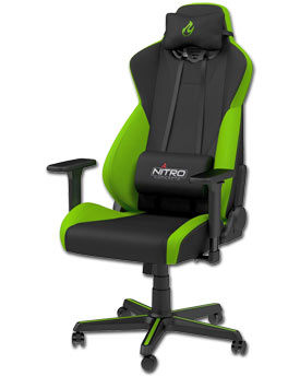 Gaming Chair S300 -Atomic Green- (Nitro Concepts)