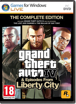 Grand Theft Auto 4 - Complete Edition -E-