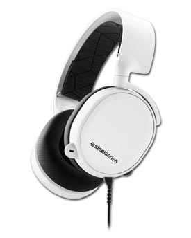 Arctis 3 Gaming Headset -White- (SteelSeries)