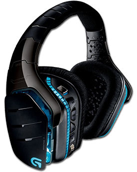 Headset G933 Wireless Artemis Spectrum -Black- G-Series (Logitech)