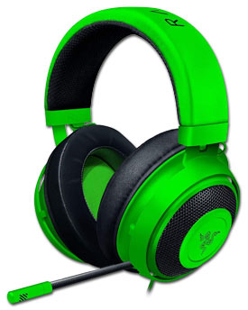 Kraken Wired Gaming Headset -Green- (Razer)